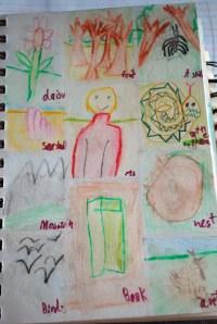 D.'s art journal
