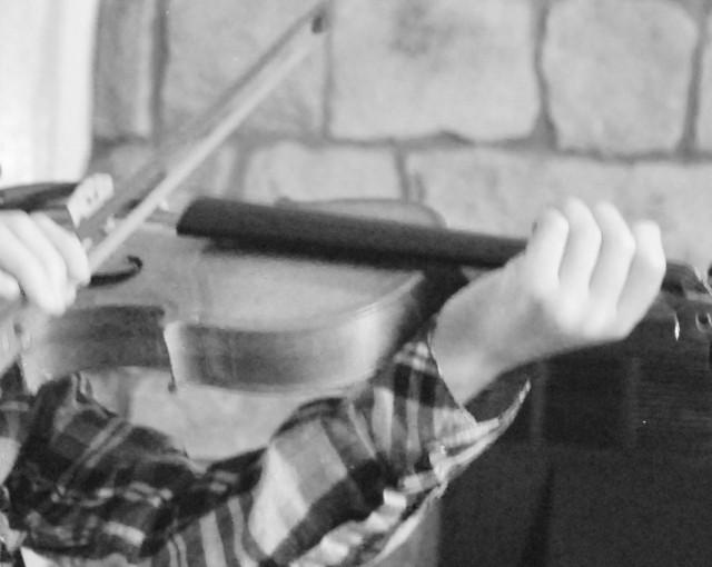 D.'s violin