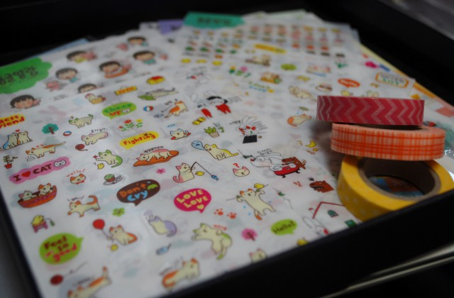 my sticker box