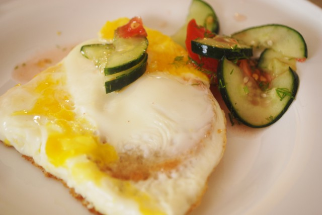 first breakfast :p