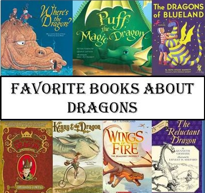 FAVORITE BOOKS ABOUT DRAGONS