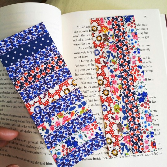 craft tape bookmarks